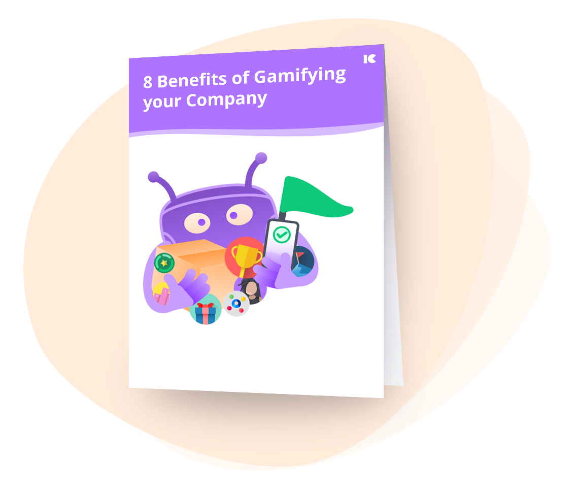 8 Benefits of Gamifying your Company one pager